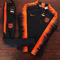 Спортивный (тренировочный ) костюм Барселона (Barcelona) 2018/2019 сезон