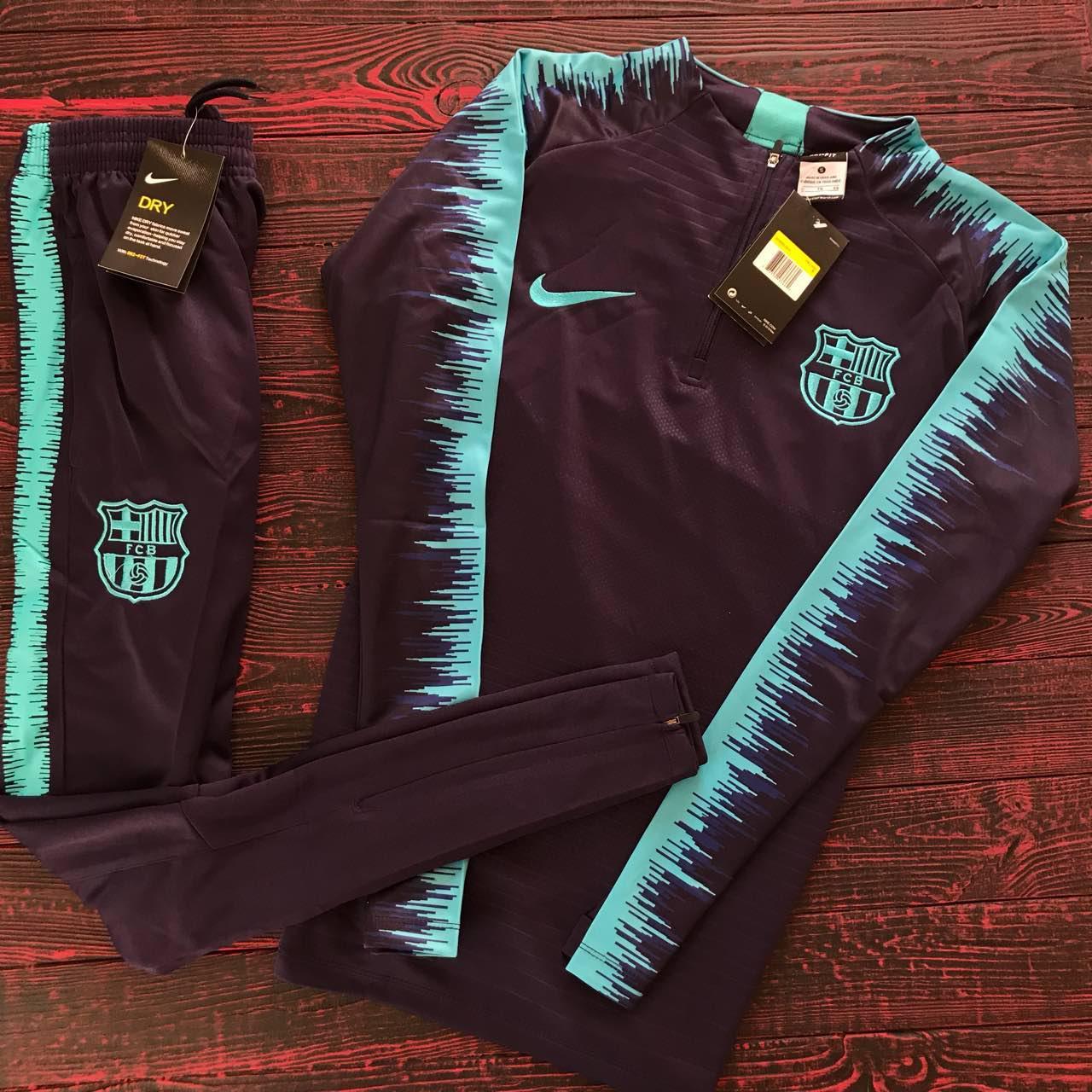 001aba47ce48 Спортивный (тренировочный ) костюм Барселона (Barcelona) 2018 2019 сезон -  Sport Exclusive