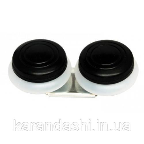 Маслёнка двойная, пластиковая с крышкой (4,5*1,7см), D.K.ART & CRAFT 94160443