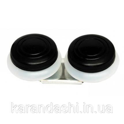 Маслёнка двойная, пластиковая с крышкой (4,5*1,7см), D.K.ART & CRAFT 94160443, фото 2