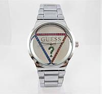 Часы Guess 40mm All Silver Quartz. Реплика