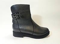 Кожаные женские зимние ботинки ТМ Pandora