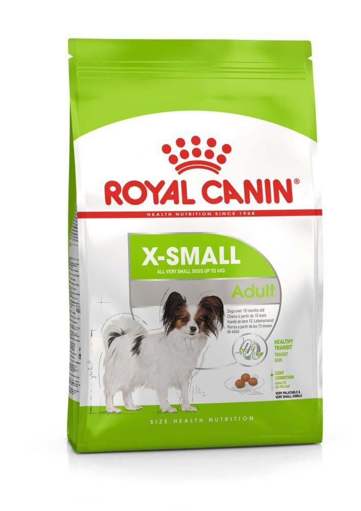 Royal Canin (Роял Канин) X-Small Adult корм для собак миниатюрных пород, 1.5 кг
