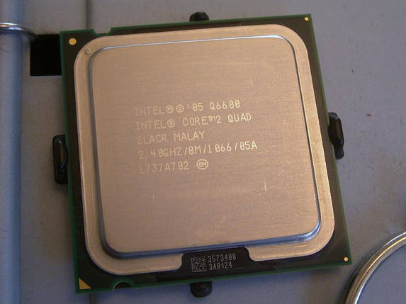 Процессор сокет 775 core 2 quad Q6600 , фото 2