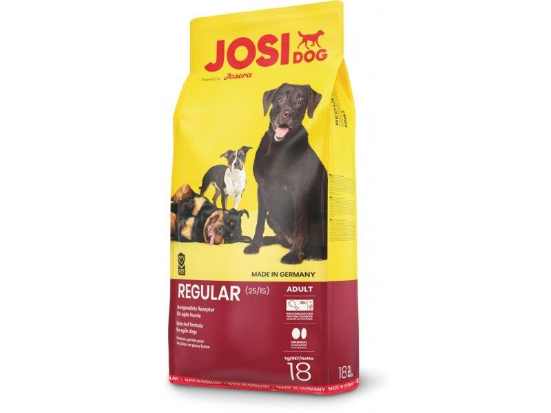JosiDog Regular корм для взрослых собак всех пород, 18 кг