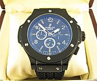 Часы Hublot Big Bang Classic Glass 46mm Black Edition (Механика). Реплика 8f03b08dc2837