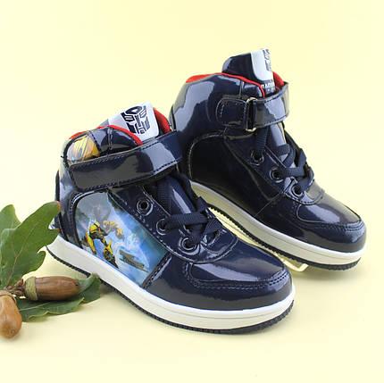 Детские ботинки  для мальчика демисезонные Трансформер ТомМ размер 29,30, фото 2