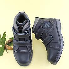 Ботинки для мальчика на осень Синие Том.м размер 35,36