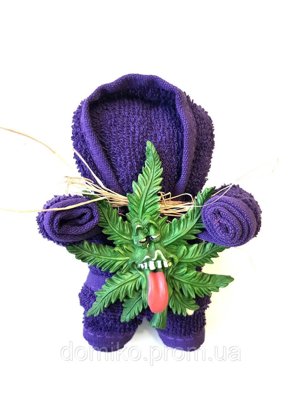 Подарок из махрового полотенца Веселая лялька