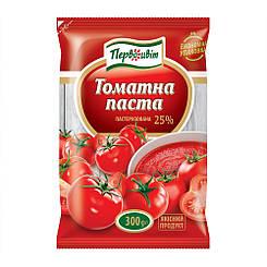 Томатная паста 25% пакет 300 гр