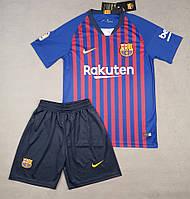 Детская футбольная форма Барселона (домашняя), 2018-2019