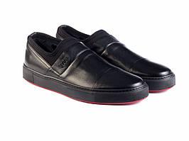 Слипоны Etor 8890-78 черные