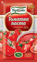 Томатная паста 25% пакет 70 гр