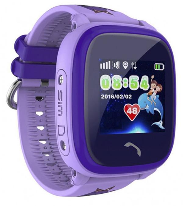 Детские умные часы-телефон с GPS трекером водонепроницаемые Smart Watc