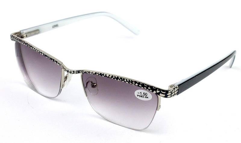 Готовые очки в металлической оправе LEVEL  продажа, цена в Харькове ... 508a3b68076
