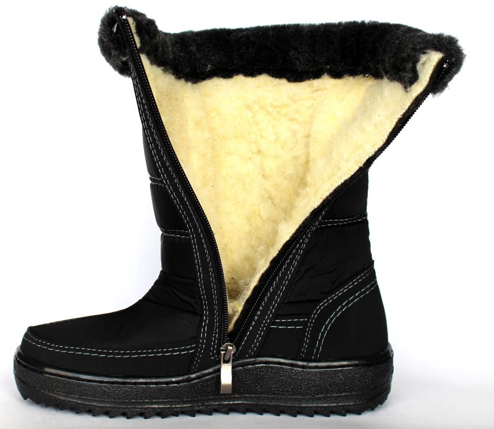 3a99ed09107ec6 41р Дутики жіночі чоботи на хутрі Львівського виробництва (КЛМ-2ч), цена  340 грн., купить в Львове — Prom.ua (ID#777741763)