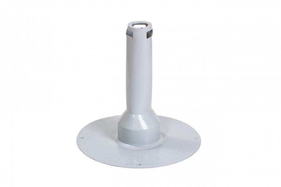 Флюгарка ПВХ Flagon диаметром 75 мм, высотой 400 мм (без колпачка)