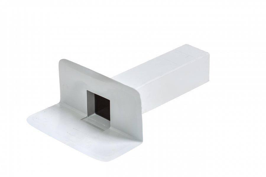 Воронка переливная квадратная ПВХ Flagon 100 х 100 мм, фото 2