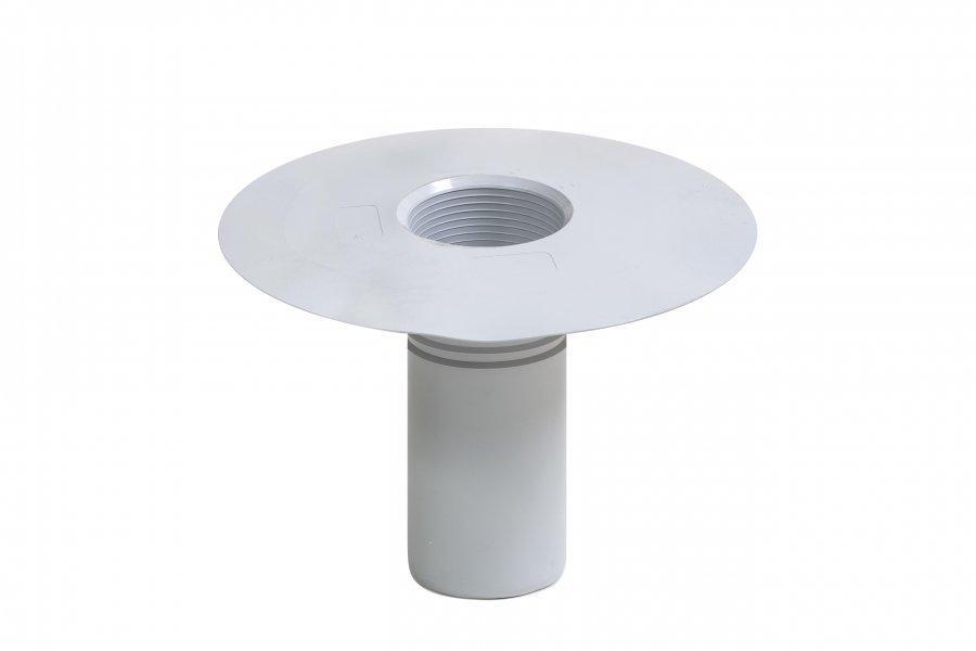 Воронка дренажная ПВХ Flagon диаметром 90 мм, высотой 240 мм