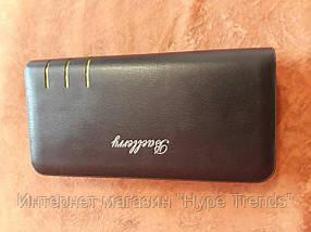 Мужской портмоне-клатч Baellerry S6111. Black Edition  В Украине, в Одессе
