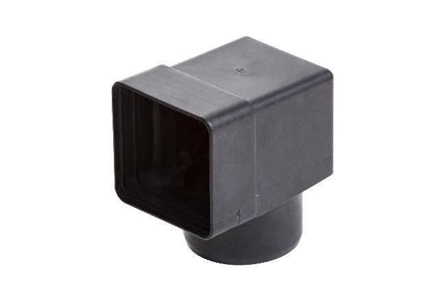 Адаптер для переливной воронки Flagon 100 х 100 мм диаметром 100 мм, фото 2