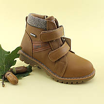 Ботинки детские Рыжие Осень  Bi&Ki размер 29, фото 2