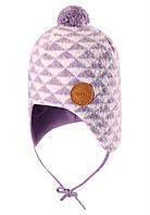 Зимняя шапка-бини для девочки Reima Kauris 518484-5181. Размер 48., фото 1