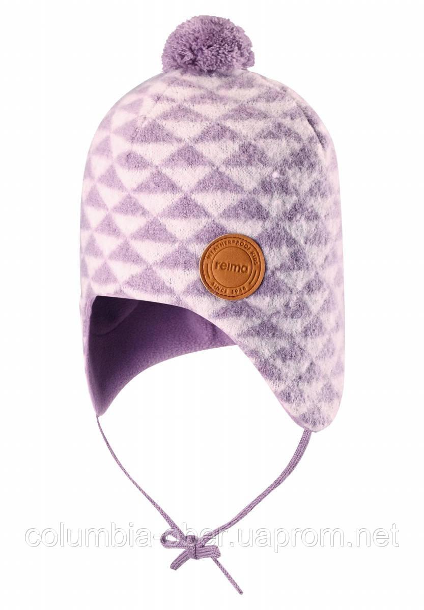 Зимняя шапка-бини для девочки Reima Kauris 518484-5181. Размер 48.