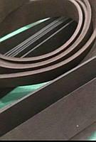 Кожаная заготовка ременная (полоса) ,темно-коричневый цвет 4 см