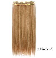 Купити недорого рівні тресс,накладні волосся 60 см(кольори в асортименті), фото 1