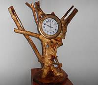 Часы из дерева, фото 1