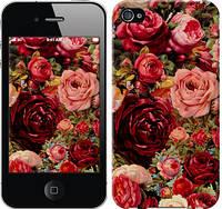 """Чехол на iPhone 4 Цветущие розы """"2701c-15-12665"""""""