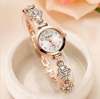 Часы женские Lvpai очень красивые серебро и золото
