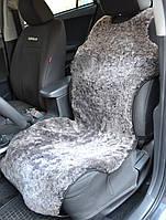 Авточехлы из натуральных овечьих шкур (майки) серый, фото 1