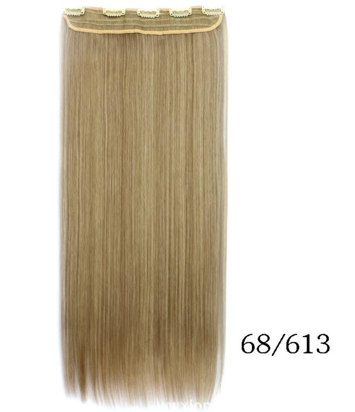 Купить недорого ровные трессы,накладные волосы 60 см мелирование(в ассортименте)