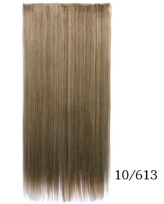 Купити недорого рівні тресс,накладні волосся 60 см мелірування (кольори в асортименті)