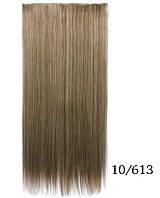 Купити недорого рівні тресс,накладні волосся 60 см мелірування (кольори в асортименті), фото 1