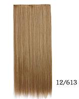 Купить недорого ровные трессы,накладные волосы 60 см мелирование (цвета в ассортименте), фото 1
