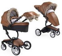 Зимовий комплект для коляски Mima Xari Winter Outfit Camel, фото 1