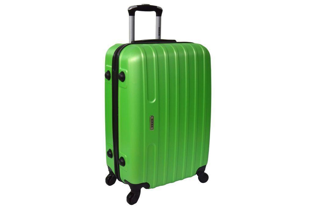 Дорожный чемодан на колесах Siker Line Салатовый Небольшой