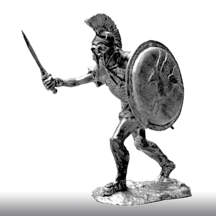 Афинский гоплит, V век до н. э.
