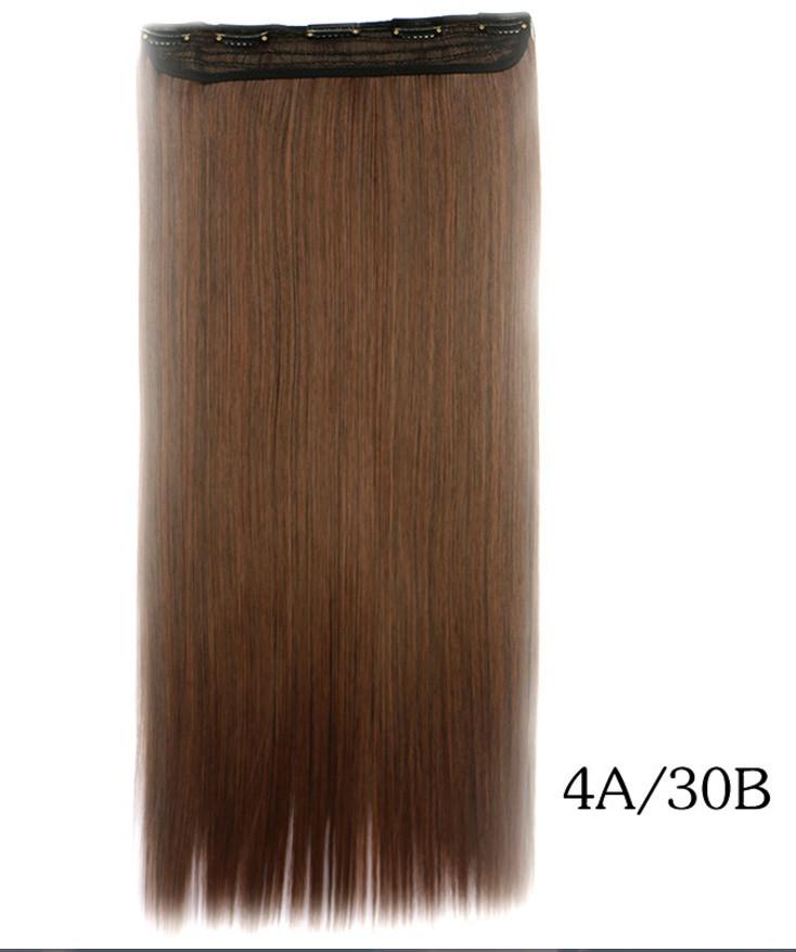 Купити недорого рівні тресс,накладні волосся 60 см(кольори в асортименті)