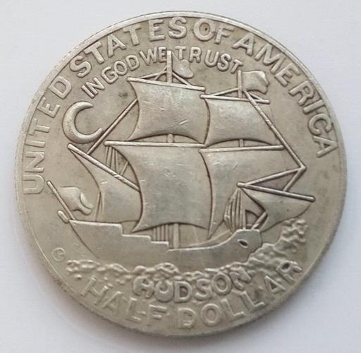 США. Пів долара 1935 р. Гудзон