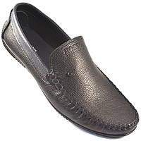 Стильные мужские мокасины черные кожа обувь больших размеров Rosso Avangard BS Guerin M4 Pelle liscia nera, фото 1