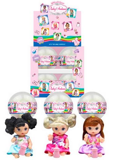Кукла сюрприз в шаре.Набор кукол в шаре.Игрушка кукла в шаре.
