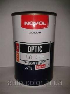 Акрилова фарба NOVOL Optic 601 Чорна 0,8 л (без затверджувача)