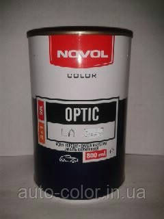 Акриловая краска NOVOL Optic 601 Черная 0,8л (без отвердителя)