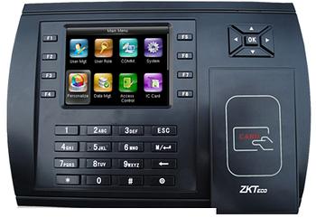 Терминал учета времени и доступа сотрудников по картам ZKTeco US900