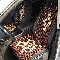 Деревянные массажные накидки для автомобиля Б26, фото 1