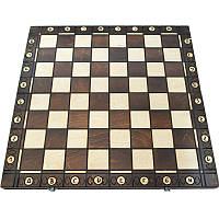 Деревянные шахматы без фигур. Доска шахматная 54 х 54 см, фото 1